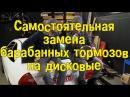 Самостоятельная замена барабанных тормозов на дисковые BMIRussian