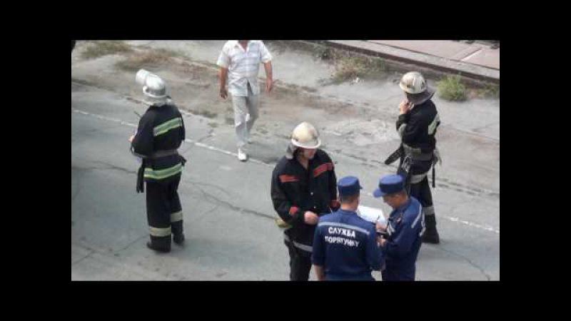 На території ЧСЗ пройшли тактико-спеціальні навчання щодо гасіння пожеж на водному транспорті