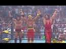 Randy Savage, Sting Lex Luger vs. Hulk Hogan, Kevin Nash