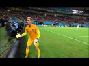 The REACTION of Joe Hart after Andrea Pirlo's free-kick (England 1-2 Italy | 15/06/2014)