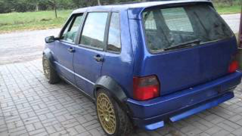 Fiat Uno 2.0 16v Turbo Integrale 4x4 by Drupi from Poland - first ride 1