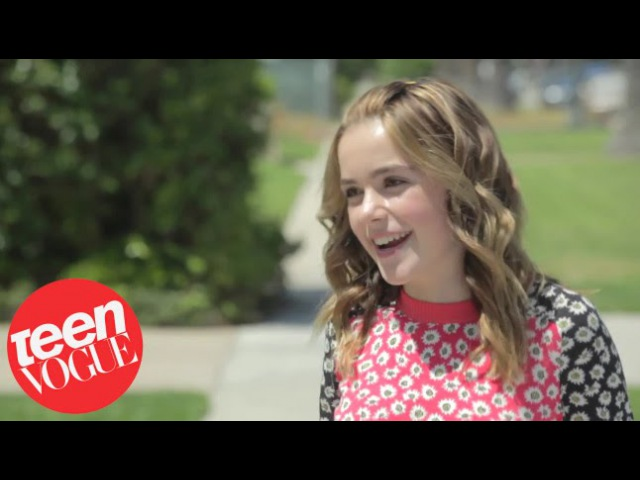 Mad Men's Kiernan Shipka and BFF Tula Goodman - Besties - Teen Vogue