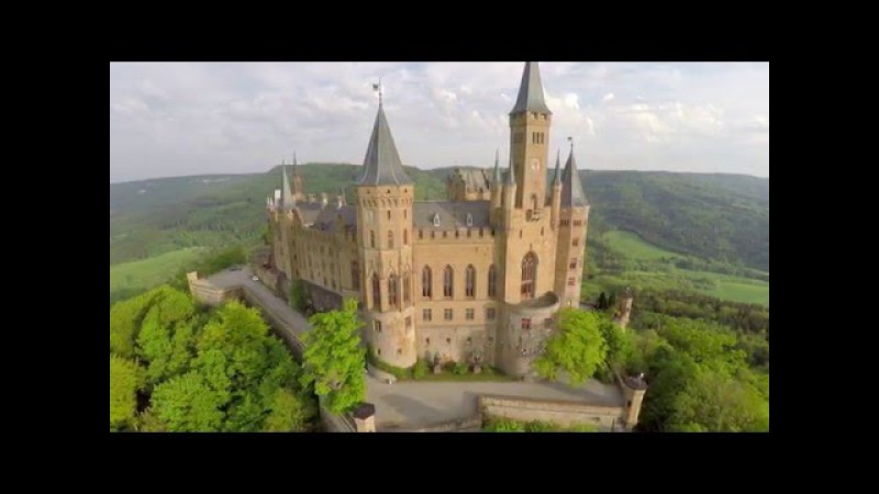 Hohenzollern Castle Aerials - Germany in 4K UHD