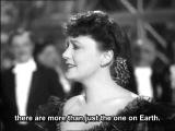 Zarah Leander - Nur nicht aus Liebe Weinen (English subtitles)
