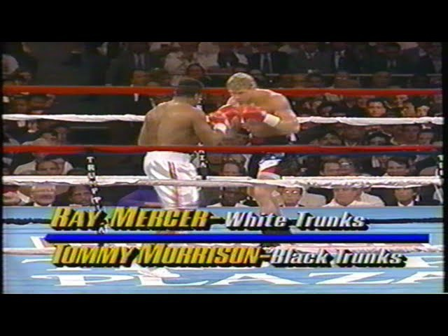 Ray Mercer vs Tommy Morrison, USA TNF FULL PROGRAM
