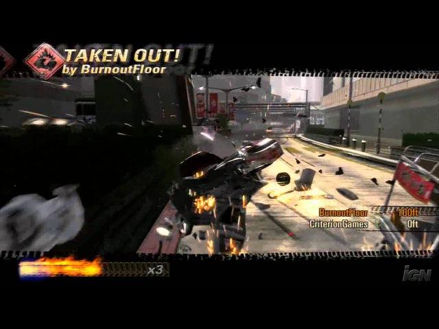Burnout Revenge Xbox 360 Trailer - Official Trailer