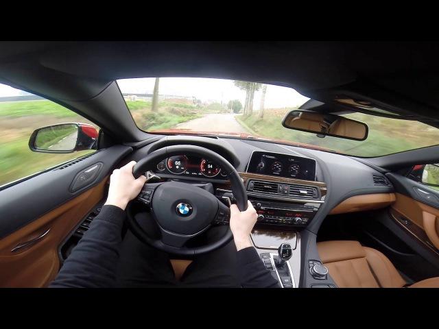 2015 BMW 6 Series 650i Convertible 449HP POV test drive GoPro