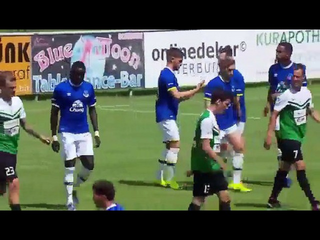 Jablonec 0-1 Everton HD All Goals Highlights   Friendly 16.07.2016 HD - Dailymotion Video