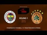 Highlights: Fenerbahce Istanbul-Panathinaikos Athens