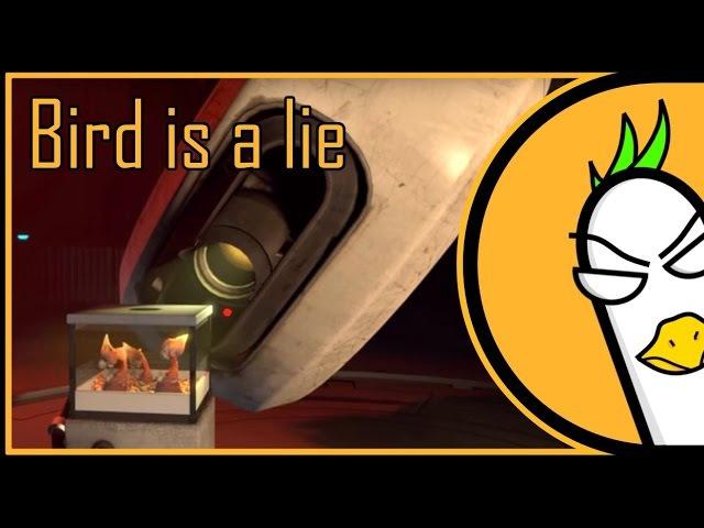 Portal 2 Song — Bird is a lie (Original RUS Song)