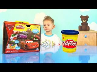 DanyaTV - Play Doh Disney Pixar Cars 2. Плей До набор Тачки 2 Развивающие игры