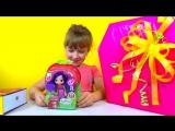 Распаковка подарков Шарлотта Земляничка Вишенка и Лалалупси Снежинка Unpacking gifts Lalaloopsy
