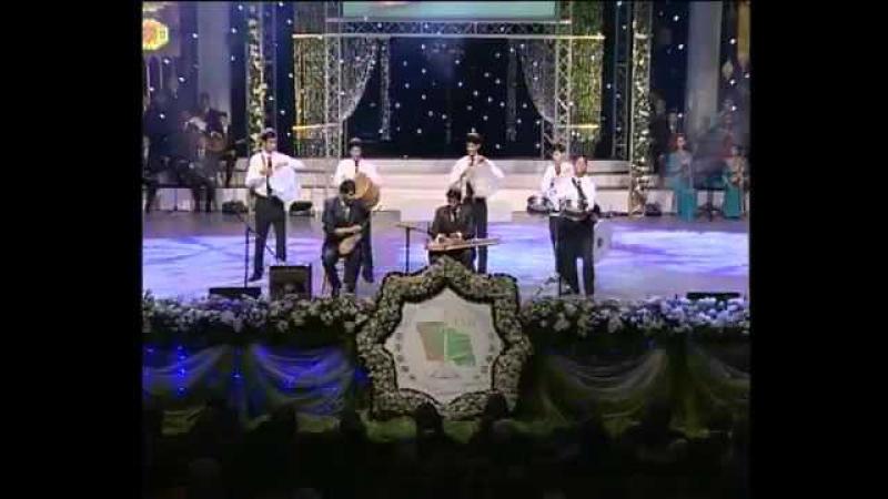 Turkmen talantlary (Nabelli) - Ajayyp saz (Dutar we bashga saz gurallar bilen)