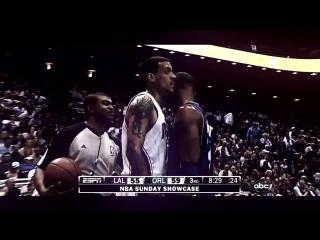 Kobe Bryant vs. Matt Barnes