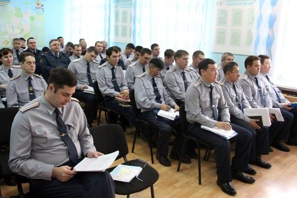 В УФСИН подвели итоги служебной деятельности за 10 месяцев 2015 года