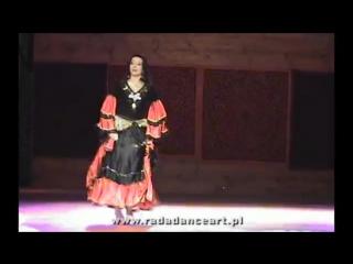 RADA Radosława Bogusławska-Taniec cygański (gypsy dance) Orientalny Koktajl 2010 (1)