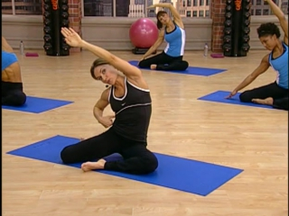 Cathe Friedrich - 1. Abs Circuit Pilates Based   Кейт Фридрих - 1. Тренировка пресса на основе пилатеса