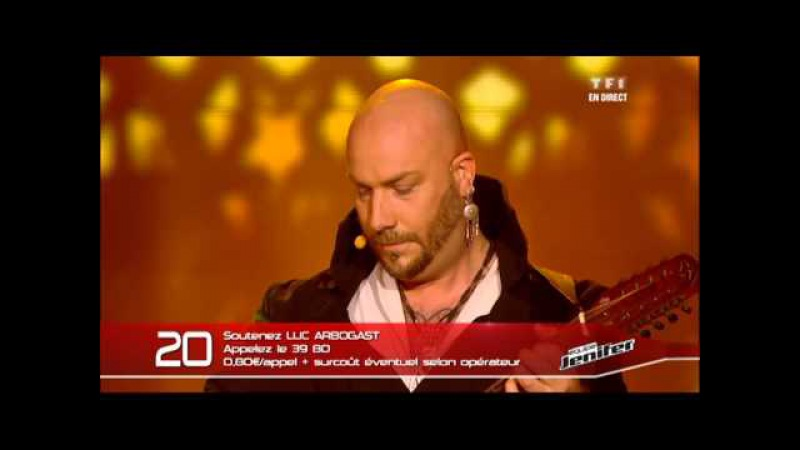 Luc Arbogast interprète en direct L'adagio (Albinoni)