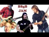 Backstreet GUITAR Boys - Larger Than Life (Rock jam cover)