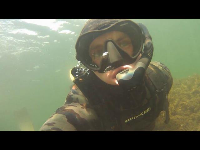 Подводная охота в Казахстане, часть 2я -