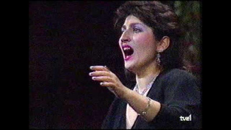 Anahit Mkhitarian, soprano. Lucia di Lammermoor. Viñas Contest. Barcelona - 1
