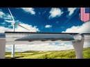 Hyperloop and future transport technology flying bicycles, maglev podcars, driverless cars