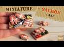 Полимерная глина - РЫБА (кулинарная миниатюра) - Polymer clay SALMON fish cane / Светлана Няшина