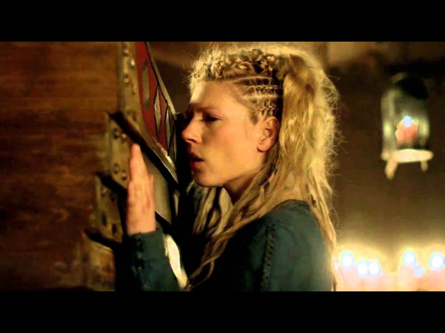 Extended Vikings Scene- Lagertha Says Goodbye to Ragnar-Confesses Her Love for Him