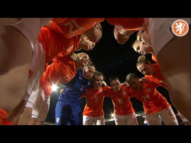 Highlights Oranjevrouwen-Zweden 09.03.2016