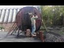 Как сделать древесной уголь. Полный цикл. Пошагово. Олег Карп