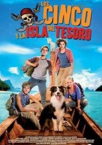 Los cinco y la isla del tesoro