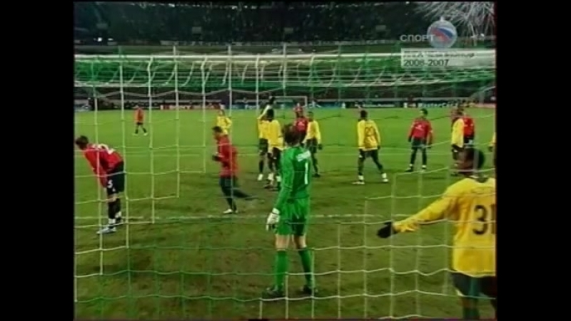 Лига Чемпионов 2006 2007 Арсенал ЦСКА 2 тайм