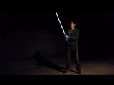 Реальный световой меч