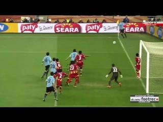 Уругвай - Гана (Самый драматичный матч на ЧМ 2010 и в истории футбола )