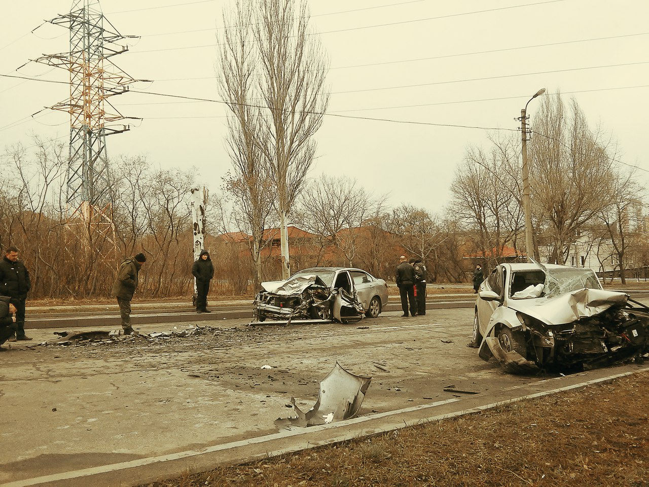 19.03.2016г. ДТП Донецк, ул. Кирова (видео)