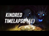 Kindred Login screen animation After effects timelapse