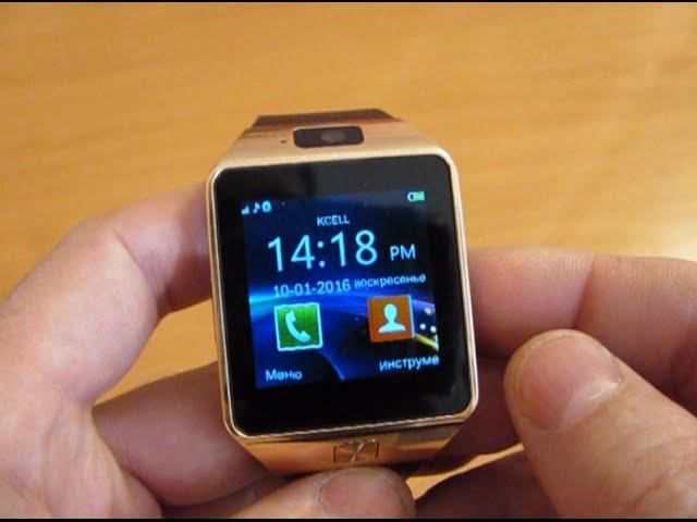 Умные часы SMARTWATCH dz09. Обзор, подключение и заказ.
