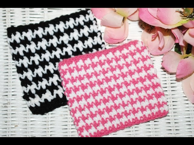 HOW TO: Crochet The HOUNDSTOOTH Stitch