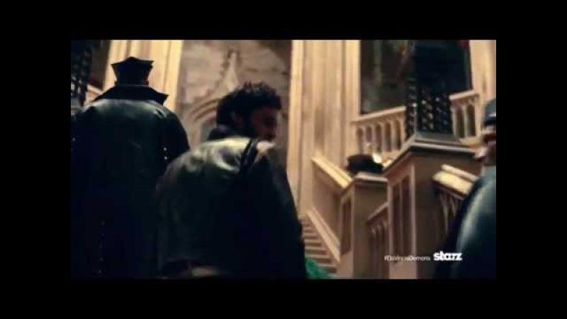Демоны да Винчи Da Vinci's Demons Трейлер 2013, сериал