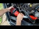 установка фильтра нулевого сопротивления и делаем БАЙПАС пшикающим на daihatsu yrv