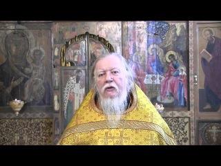 о. Дмитрий Смирнов - проповедь об обидах и их последствиях