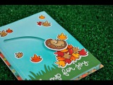 A Jump For Joy Slider Card with Lawn Fawn Kelly Marie Alvarez