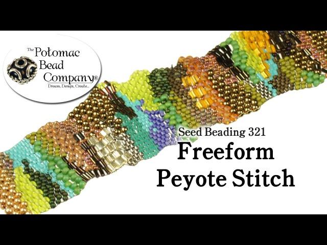 Freeform Peyote Stitch