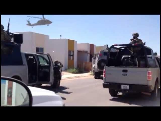 Capturan marinos a La Ardilla en Nuevo Laredo, Tamaulipas.