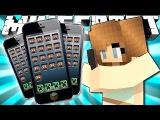 Если бы Телефоны были добавлены в Майнкрафт! (Minecraft Машинима)