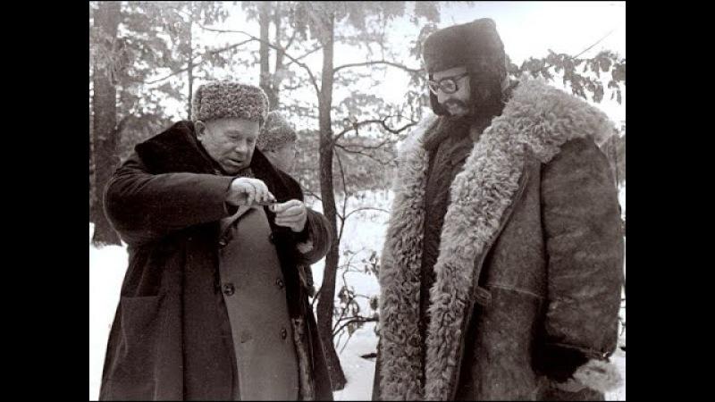 Однажды вожди СССР Хрущев Брежнев и Фидель Кастро поехали в зимний лес Веселились как дети 1964