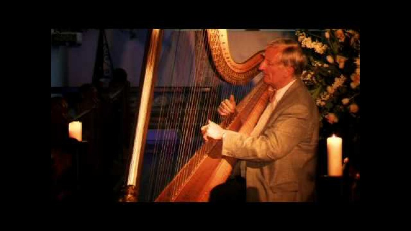 Sarabande on a Ground by William Croft. Harpist David Watkins