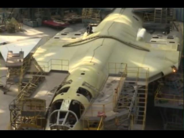 Новые Ту-160 М2 - Началась достройка центропланов с консервации 90-х. Три машины в го...