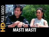 Masti Masti | Sonu Nigam, Alka Yagnik | Chalo Ishq Ladaaye 2000 Songs | Govinda, Rani Mukerji