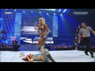 Smackdown 7/3/09 Michelle McCool Layla vs. Maria Melina
